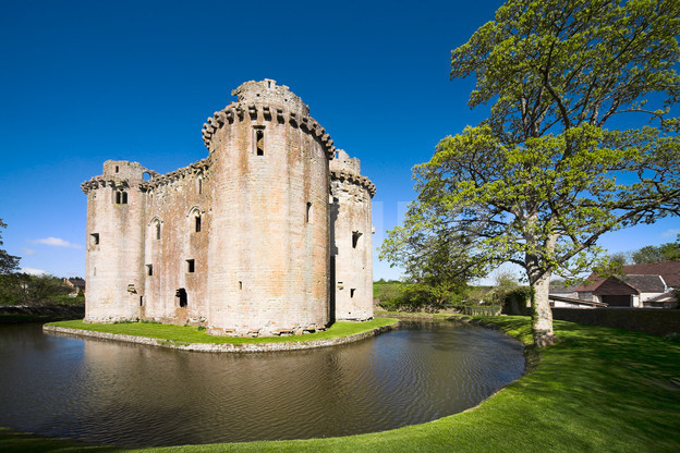 Nunney Castle and Moat
