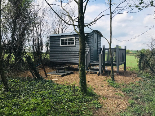 Shepherds Hut in the Woods