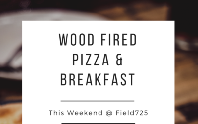 Field 725 Cafe NOW OPEN FOR SUMMER