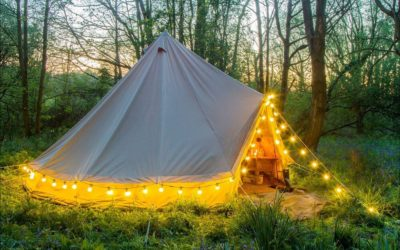 Pre-Pitched Bell Tents