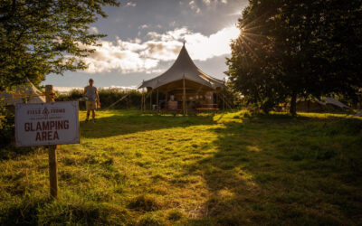 Last Minute Deal – 20% Off Glamping in September